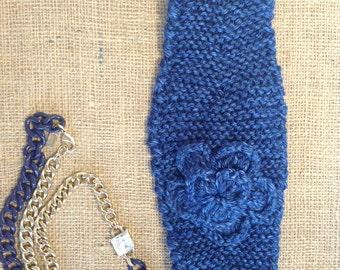 """Handmade Knitted Headband """"The Caity"""" 0003"""