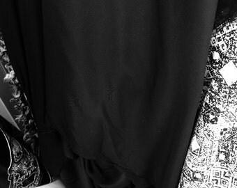 "100% polyester Black lining 60""W"