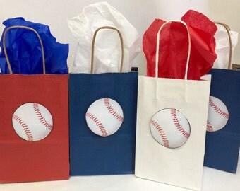 Ready to Ship Out 12PK 15PK 20PK Baseball Party Favor Bags