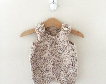 Knitting Pattern Baby Jumpsuit : Mommy stuff Etsy