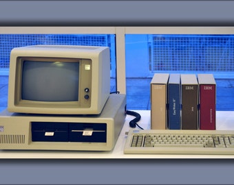 24x36 Poster . Ibm Personal Computer, 1981 Computer History