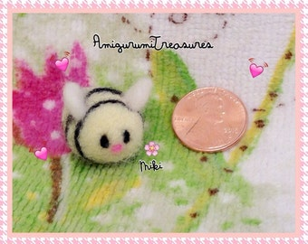 Blossom the Sweet felted bee