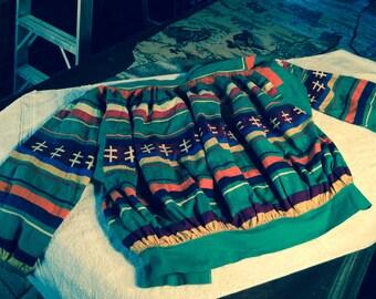 Vintage textile garment