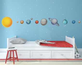 Complete Solar System Wall Decals for Kids - WDSET10019