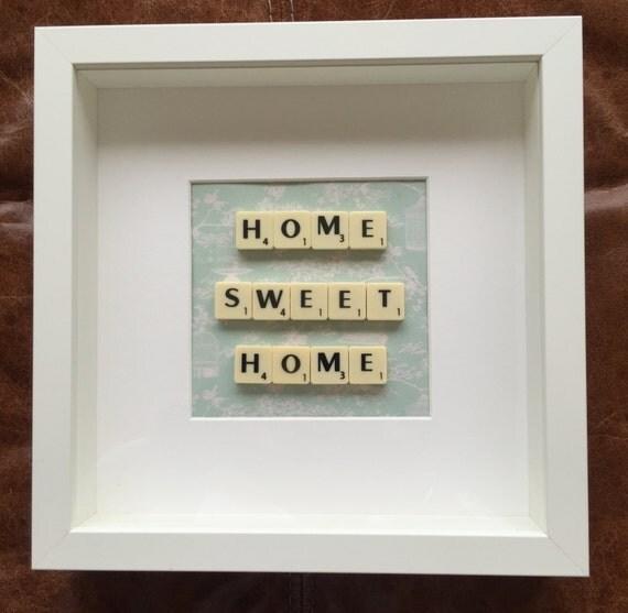 Home Sweet Home Gift Frame