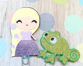 Paperclip Rapunzel and Chameleon
