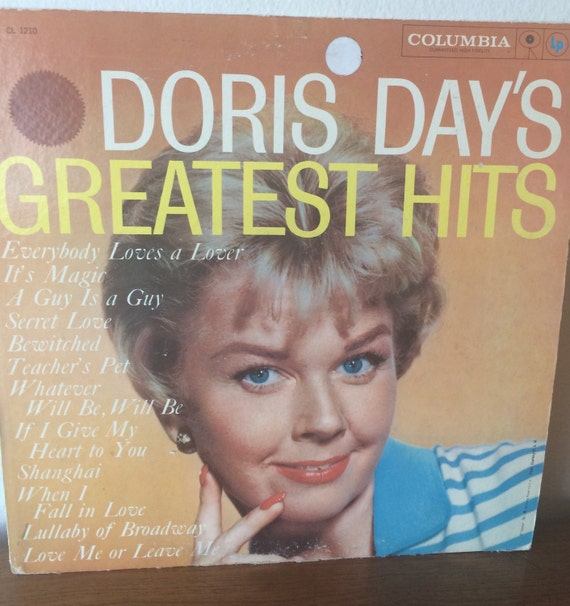 Vintage Doris Day Greatest Hits Vinyl Record Album Film Tv