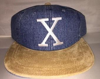 Vintage Malcolm X Strapback snapback dad hat cap rare 90s deadstock supreme og
