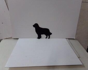 Golden Gary Dog Medium Metal Wall Art Silhouette