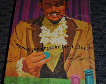 Strategy Poker - Milton Bradley - Card Game - 1967