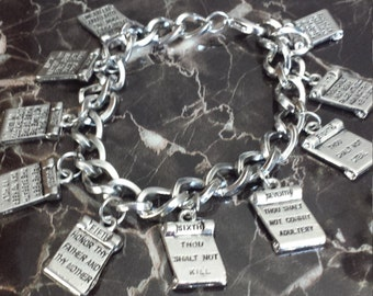 10 Commandments Bracelet