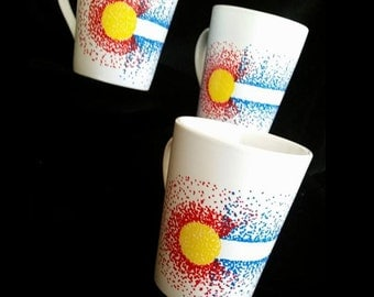 Colorado Pride Coffee Mugs