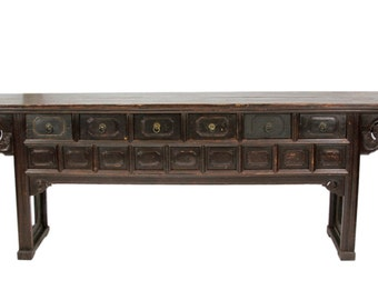 18th Century Altar Dresserbase, Chinese Alter Console