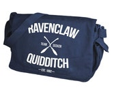 Ravenclaw Quidditch Navy Messenger Bag