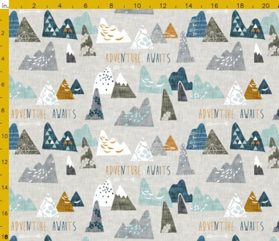 Adventure Awaits Crib Bedding Baby Bedding Nursery Baby Boy