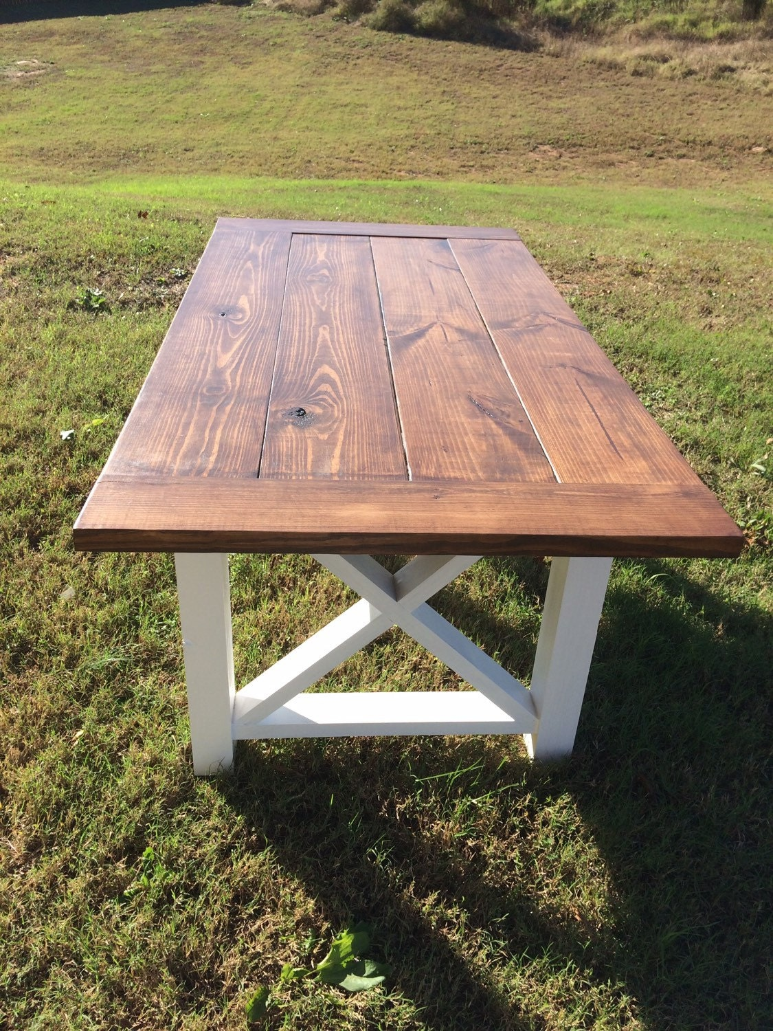 Farmhouse Table Farm Table And Bench Wood By Boardmancowoodworks