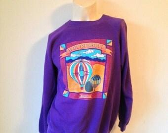 Cool Purple Albuquerque Sweatshirt