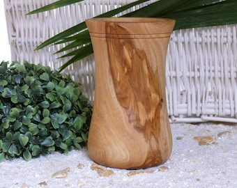 Utensils cup of olive wood