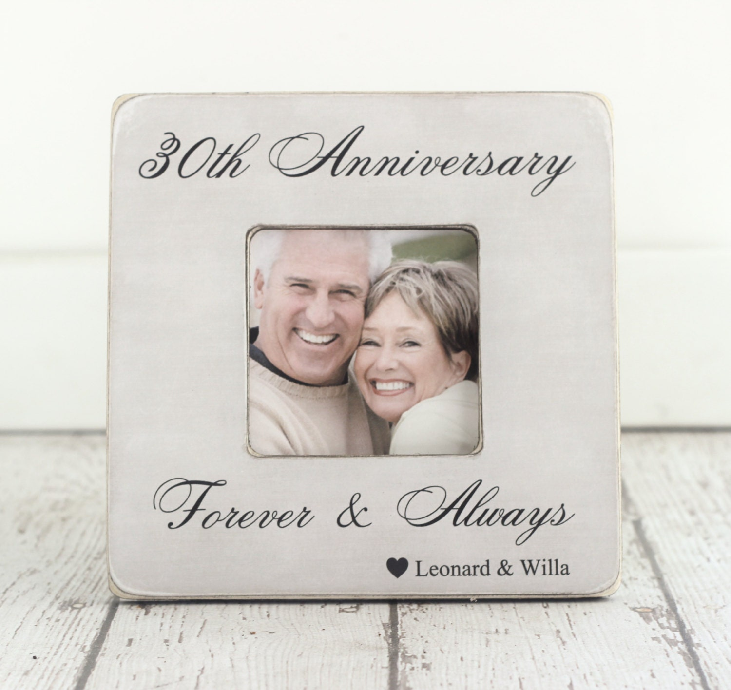 What Gift For 30th Wedding Anniversary: Wedding Anniversary Engagement GIFT 30th Anniversary 10th 20th