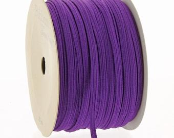 """1/8"""" Skinny Elastic Purple - 3yds"""