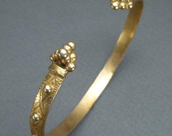 10K Gold Etruscan Revival bracelet