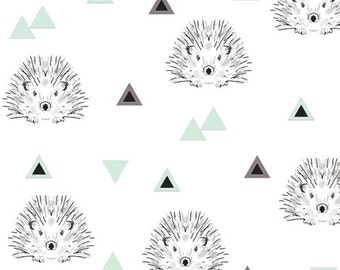 Hedgehogs with mint triangles
