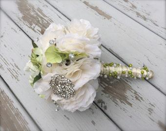 bling bouquet/bridal bouquet/artificial bouquet/bridal bouquet/bridemaid bouquet