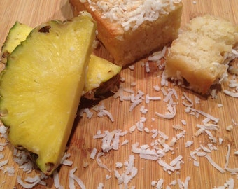 Gluten Free & Vegan Pineapple Coconut Bread
