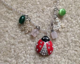 Ladybug/Butterfly Necklace