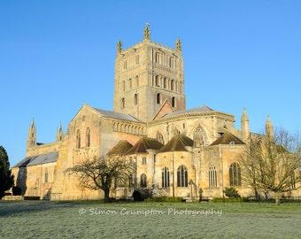 Tewkesbury Abbey - England - United Kingdom - Landscape - Fine Art Print