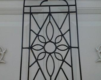 wrought iron wall art