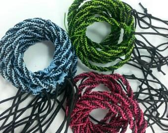 30 pcs Wholesale Woven friendship bracelet.