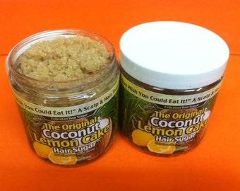 The Original Coconut Lemon Cake Scalp and Hair Sugar