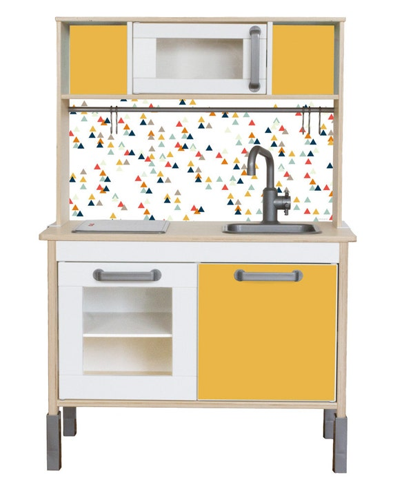 play kitchen decals trianglig pimp your ikea. Black Bedroom Furniture Sets. Home Design Ideas