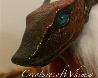 Whym Dragon-posable art doll-cosplay-mixed media sculpture