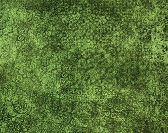 Quilting Treasures Moss Green Scrollscapes 24362-G