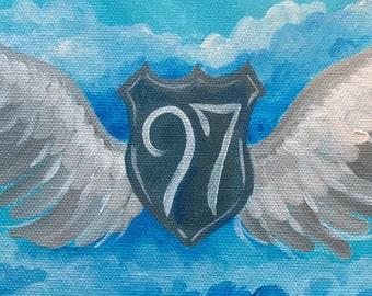 Opa got his wings