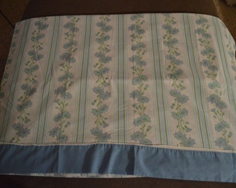 Vintage Dan River dantrel no iron muslin new without package Queen Flat sheet