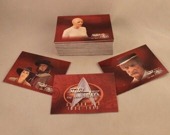 Star Trek The Next Generation Season 6 Trading Card Set