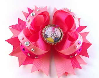 Stacked Boutique Style Bow Max & Ruby inspired bow