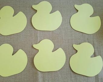 Duck Die Cut Set of 6
