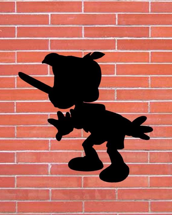 Pinocchio. Disney. Silhouette Clipart Set от DigitalReflection