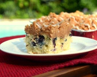 Blueberry Crumb Cake, Blueberry Desserts, Freshly Baked Cake, Vanilla Fruit Cake, NY Crumb Cake, Gourmet Cake, Homemade Cake, Cinnamon Cake,