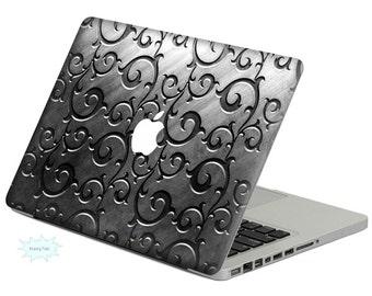 Metal Pattern Decal Mac Stickers Macbook Decal Macbook Stickers Apple Decal Mac Decal Stickers