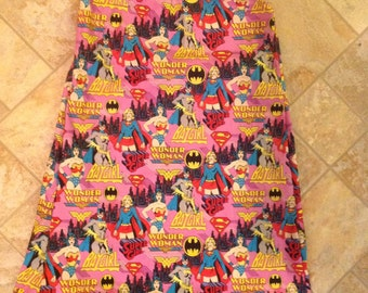 Wonder Woman bat girl super girl dress
