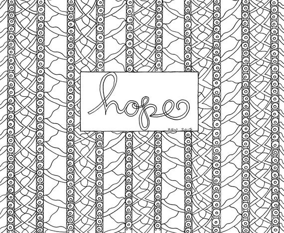 It is an image of Critical Hope Coloring Pages Printable