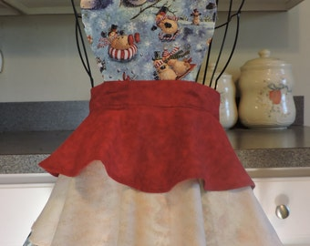 Kid's Holiday 3 Tier Full Apron