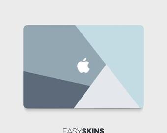 Blue Geo - MacBook Pro Skin | MacBook Air Sticker | Laptop Skin | MacBook Decal | Laptop Sticker | Easy Skins