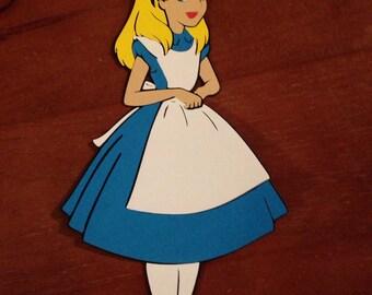 Alice in Wonderland die cut