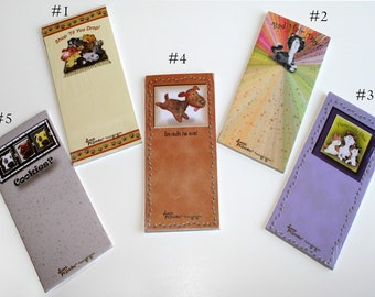 Pet Note Pads (Available in 5 designs with magnetic backs)